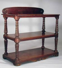 Signed Carved Trolley - A12721