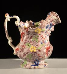 Chintz Face Pitcher - A15871
