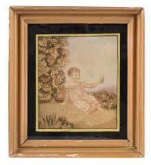 "Regency ""Painted Face"" Needlework - R15939"