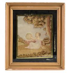 "Regency ""Painted Face"" Needlework - R15940"