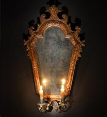 Italian Carved and Gilded Sconce - RD14188