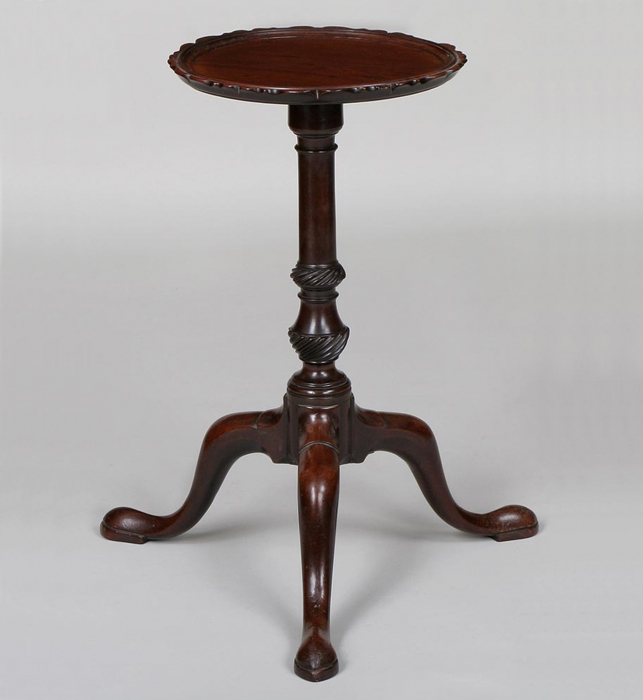 Chippendale Mahogany Tea-Kettle Stand
