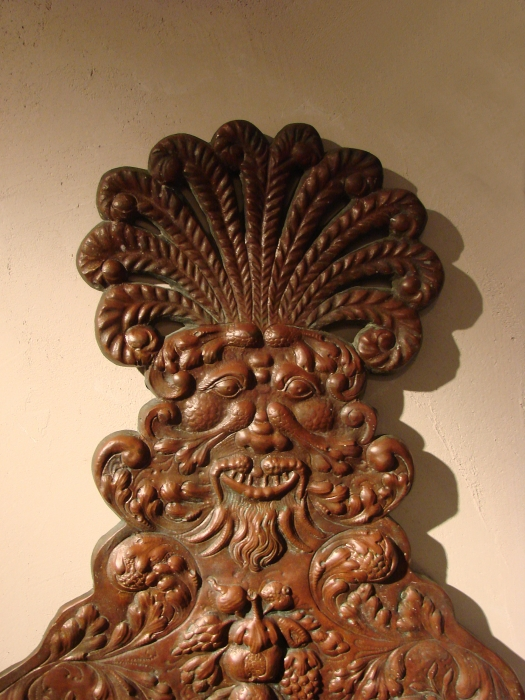 16th Century Three-Light Cast Bronze Sconce