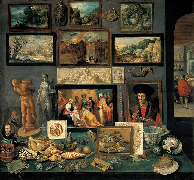 "Frans Francken the Younger ""Art Room"" 1636"