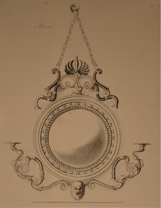 George Smith Design for a Mirror